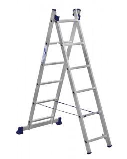 Лестница алюмин. 2х6 (2,59м)