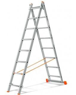Лестница алюмин. 2х8 (3,71м)