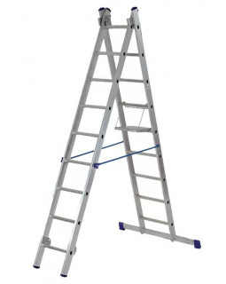 Лестница алюмин. 2х9 (4,27м)