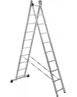 Лестница алюмин. 2х10 (4,83м)