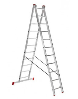 Лестница алюмин. 2х11 (5,39м)