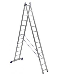 Лестница алюмин. 2х13 (6,23м)