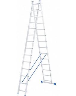 Лестница алюмин. 2х14 (6,79м)