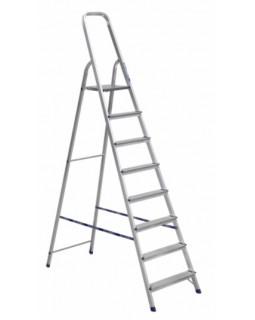 Стремянка алюминиевая 8 ступеней (1,66м)