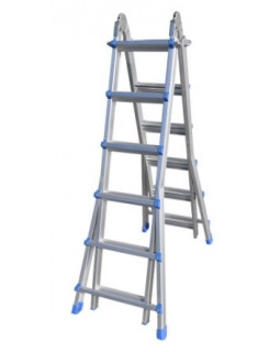 Лестница алюминиевая многофункциональная MULTI 4x6