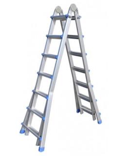 Лестница алюминиевая многофункциональная MULTI 4x7