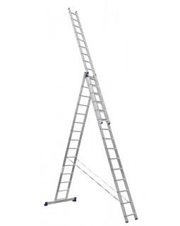 Лестница алюмин. 3х15 (10,57м)