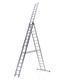 Лестница алюмин. 3х17 (12,28м)