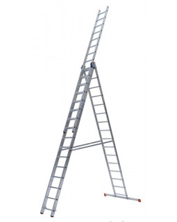 Лестница алюмин. 3х18 (13,13м)
