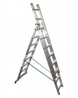 Лестница алюмин. 3х8 (5,12м)