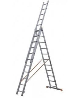 Лестница алюмин. 3х11 (7,64м)