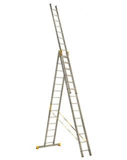 Лестница алюмин. 3х14 (9,60м)