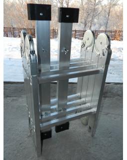 Лестница алюминиевая многофункциональная MULTI 4x4