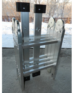 Лестница-трансформер 4х2 ЭКСПЕРТ (2,39м)