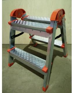 ЯРУС Стремянка стальн. 2+2 ступ.