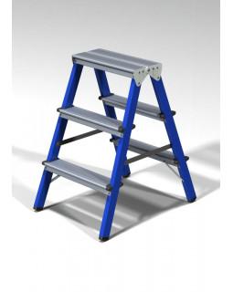 Стремянка стальн. 3+3 ступ.